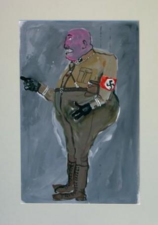 Projekt kostiumu nazisty