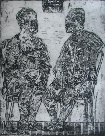 Dwie figury, 1988 r.