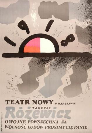 1918, Owojnę powszechną..., 1988 r., Tadeusz Różewicz
