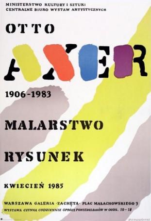 Otto Axer 1906-1983: Malarstwo,Rysunek, 1985 r.