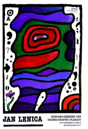 Jan Lenica Wystawa czerwiec 1996 Galeria Grafiki iPlakatu