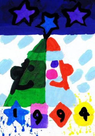 Untitled (Santa Claus), 1994