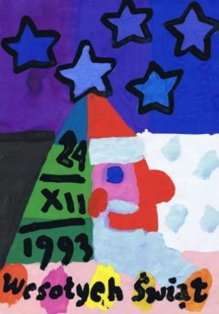 Bez tytułu (Mikołaj) 1993, r.
