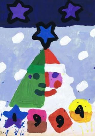 Bez tytułu (Mikołaj), 1994 r.