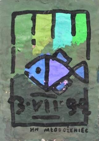 Bez tytułu (Ryba nr 170), 1994 r.