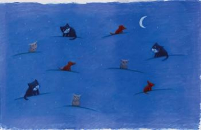 Tomasz Bogacki, Cat and mouse, Tomasz Bogacki, Frances Foster Books FSG, New York, 1996