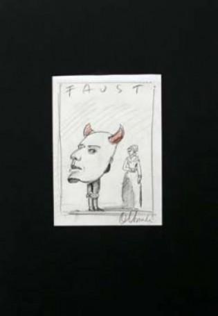 Faust -szkic do plakatu
