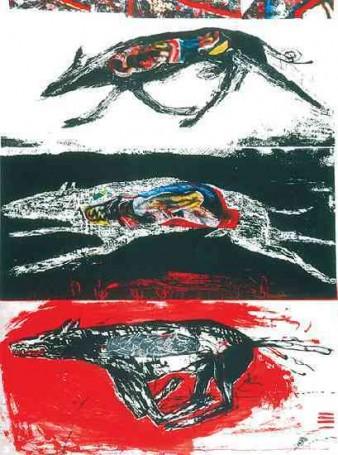Trzy psy, 2001 r.