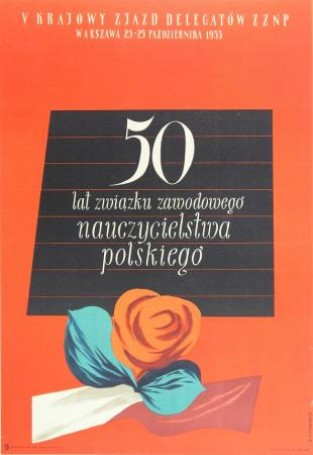 50th Anniversary of the Polish Teachers Union, 1955