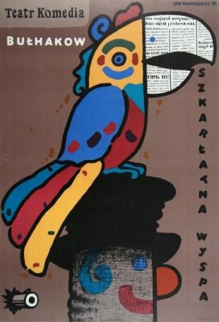 Szkarłatna wyspa, 1987 r., Michaił Bułhakow