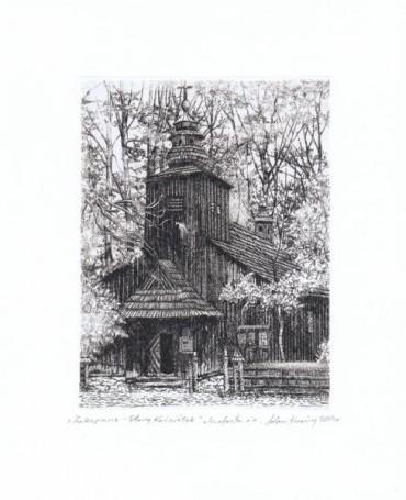 Zakopane -Old Church, 2004