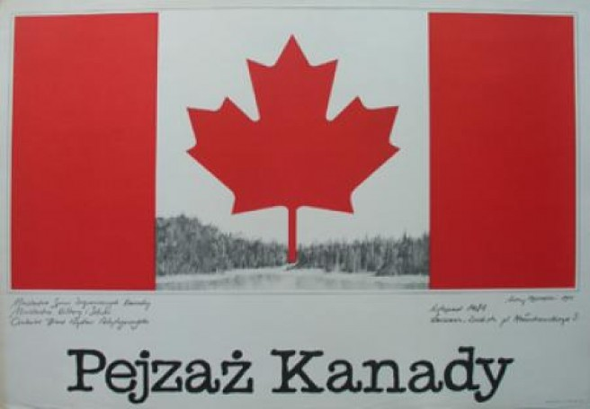 Pejzaż Kanady, 1981 r.