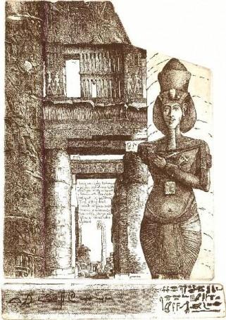 Karnak -znaki Czasu (List zEgiptu), 2007 r.