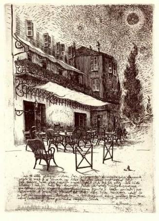 Cafe la Nuit (list zArles), 1998 r.