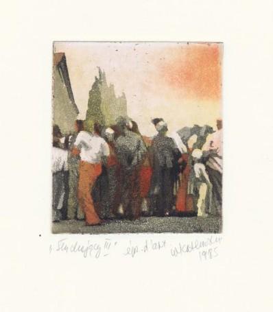 Słuchajacy III, 1985 r.