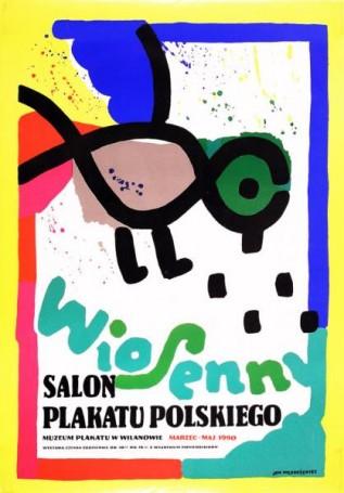 Wiosenny Salon Plakatu Polskiego, 1990 r.