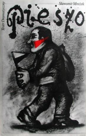 Pieszo, Mrożek, 1981 r.