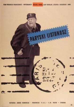 Paryski listonosz, 1956 r., reż. Andre Hunebelle