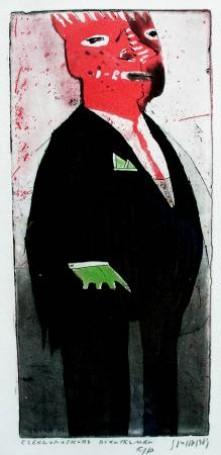 Czerwonoskóry dżentelmen, 1984 r.