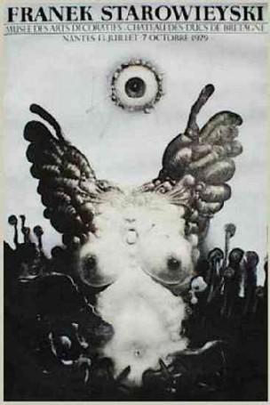 Franek Starowieyski Musee des Arts Decoratifs, 1979 r.