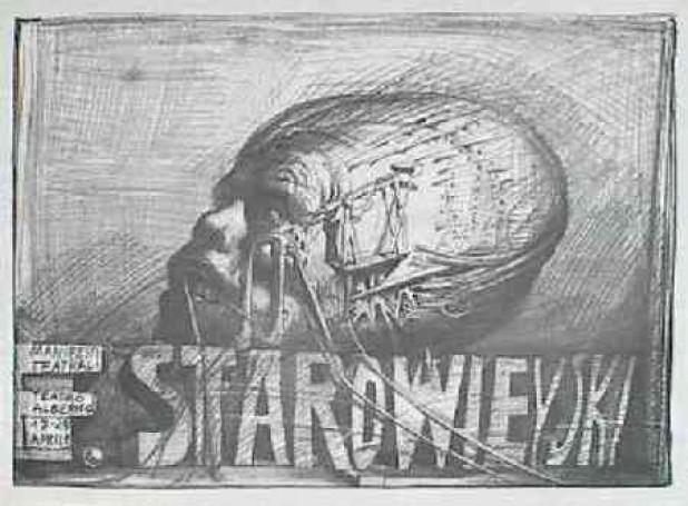 F. Starowieyski Manifesti teatrali, 1979 r.