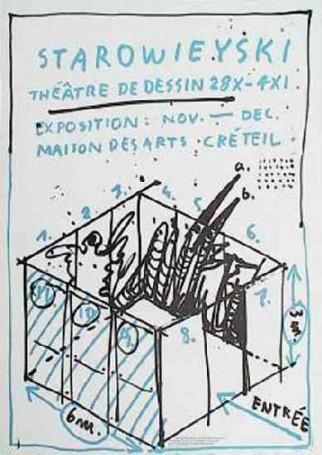 Starowieyski Theatre de dessin, 1985 r.