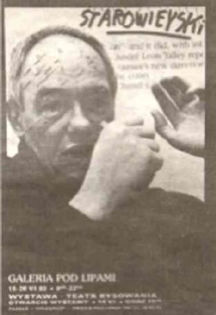 Starowieyski Galeria Pod Lipami, 1993 r.