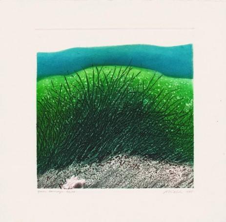 Green landscape, 1995 r.