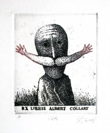 Ex libris Albert Collart