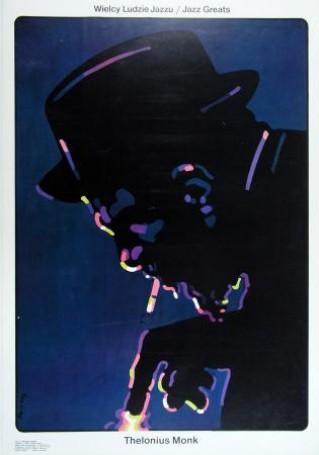 Wielcy ludzie jazzu Thelonius Monk