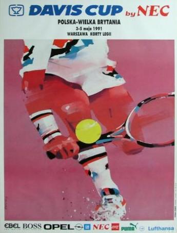 Davis Cup Polska -Wielka Brytania, 1991 r.