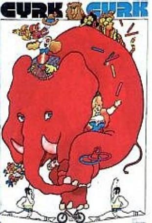 Cyrk -słoń