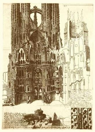 Sagrada Familia (List zBarcelony II), 1998 r.