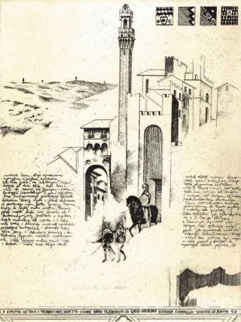 Mangia (List zeSieny), 1987 r.