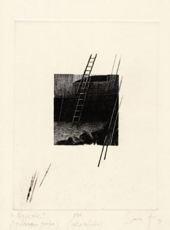Wyjście ( pierwsza próba), 1991 r.