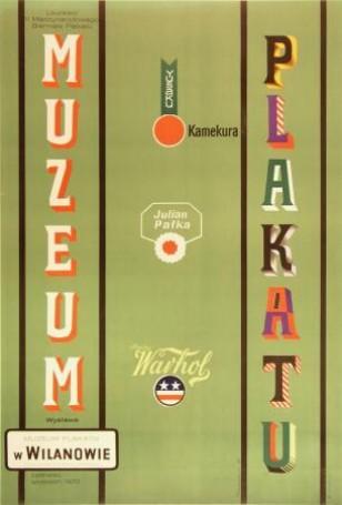 Laureaci II Międzynarodowego Biennale Plakatu Kamekura, Pałka, Warhol