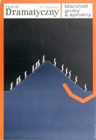 Marchołt gruby asprośny, 1970 r.