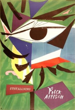 Utstallning Polsk affisch