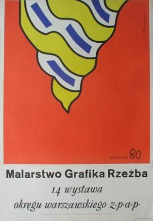 Malarstwo Grafika Rzezba, 1980