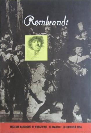 Rembrandt -Muzeum Naradowe wWarszawie, 1956 r.