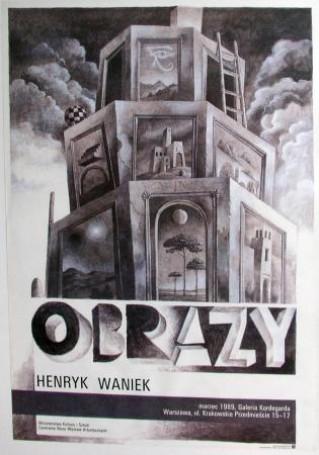 Henryk Waniek. Obrazy