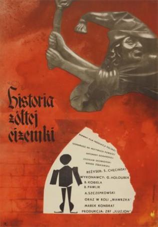 Historia żółtej ciżemki, reż. S. Chęciński, 1961 r.