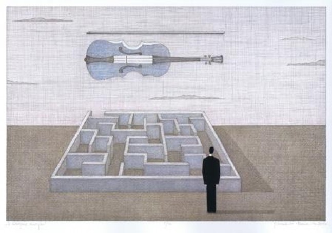 In the maze of music