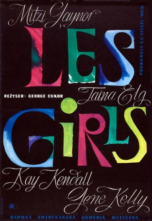Les girls, 1961 r.