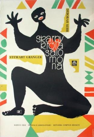 Skarby króla Salomona, 1958 r.