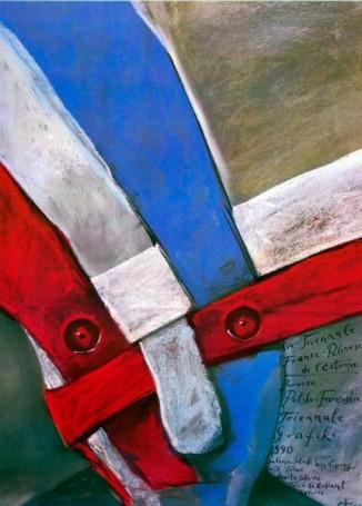 Pierwsze polsko-francuskie triennale grafiki, 1990