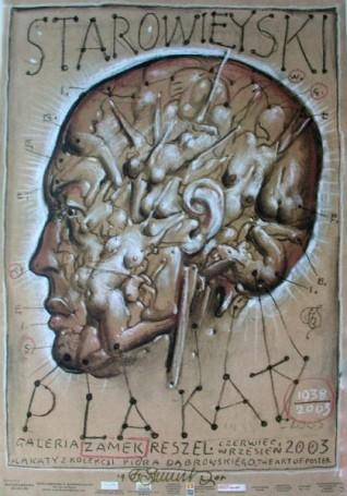 Starowieyski Plakaty Galeria Zamek Reszel, 2003 r.