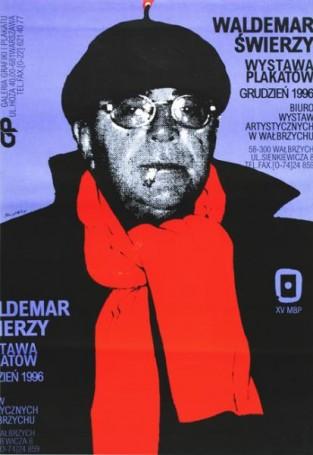 Waldemar Świerzy Wystawa plakatów BWA Wałbrzych, 1996 r.