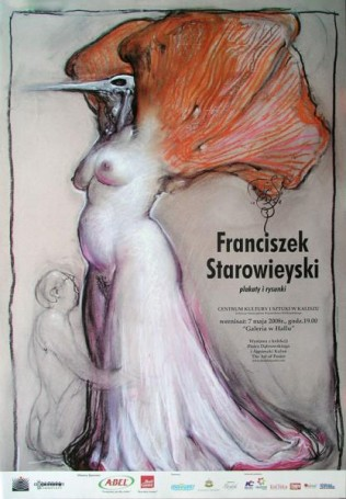 Franciszek Starowieyski plakaty irysunki, 2008 r.