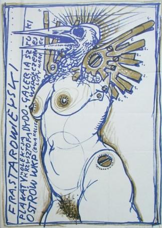 Starowieyski Plakat Ostrów Wkp, 1985 r.